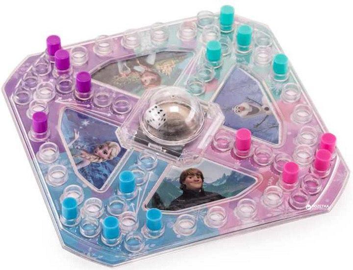 Настольная игра с кнопкой «Холодное сердце» (мини) Spin Master