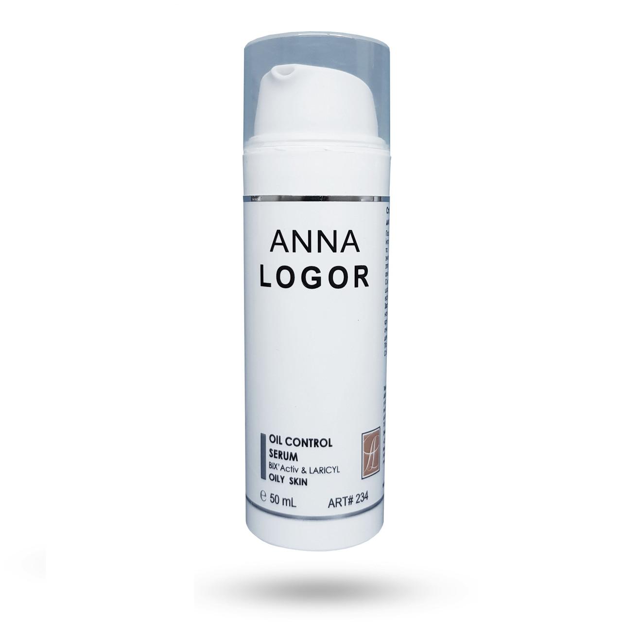 Стабілізуюча сироватка для жирної шкіри Anna LOGOR Oil Control Serum 50 ml Art.234