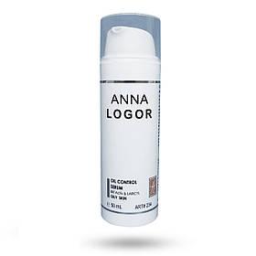 Стабилизирующая сыворотка для жирной кожи лица Anna LOGOR Oil Control Serum 50 ml Art.234