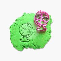 """3D форми для пряників - Вирубка-відбиток """"Глобус №1"""""""