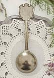 Коллекционная оловянная ложка BREMEN, пищевое олово, Германия, фото 2