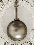 Коллекционная оловянная ложка BREMEN, пищевое олово, Германия, фото 5