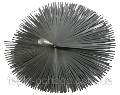 Ершик для дымохода своими руками LUX, 130 мм, стальной под резьбу