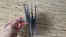 Ершик для дымохода своими руками LUX, 130 мм, стальной под резьбу, фото 3