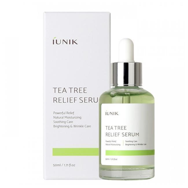Сыворотка с чайным деревом для проблемной кожи IUNIK Tea Tree Relief Serum, 50 мл