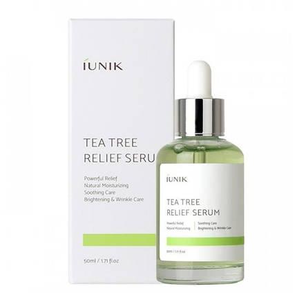 Сыворотка с чайным деревом для проблемной кожи IUNIK Tea Tree Relief Serum, 50 мл, фото 2