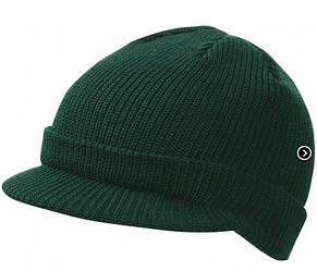 Вязаная шапка с козырьком 7530-1