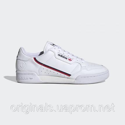 Чоловічі кросівки Adidas Continental 80 Vegan FW2336 20/2, фото 2