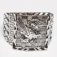 """Мужское кольцо перстень """"Орел"""", размеры 19, 20. Цинковый сплав."""