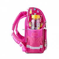 Рюкзак шкільний каркасний SMART Рожевий (558055), фото 2