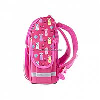 Рюкзак шкільний каркасний SMART Рожевий (558055), фото 3