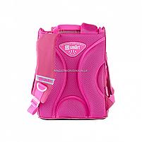 Рюкзак шкільний каркасний SMART Рожевий (558055), фото 4