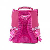 Рюкзак шкільний каркасний SMART Рожевий (558055), фото 5