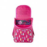 Рюкзак шкільний каркасний SMART Рожевий (558055), фото 6