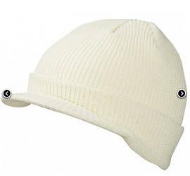 Вязаная шапка с козырьком 7530-4