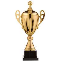 Кубок спортивный с крышкой и ручками 45 см, фото 1