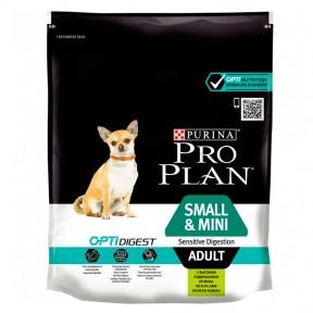 Про План сухой корм для собак мелких пород с чувствительным пищеварением ягннок 3 кг