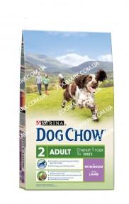 Dog Chow 2,5кг Ягннок