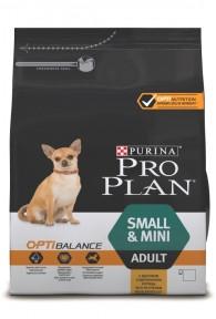 PRO PLAN для взрослых собак мелких и карликовых пород 3 кг