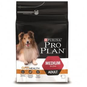 PRO PLAN OPTIHEALTH для взрослых собак средних пород 3 кг