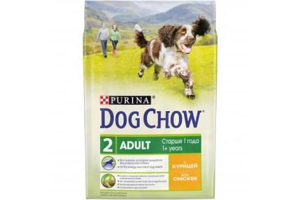 DOG CHOW Курица Сухой корм для собак 2,5 кг  190993