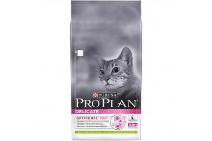 Про План для чувствительных котов ягннок 10 кг