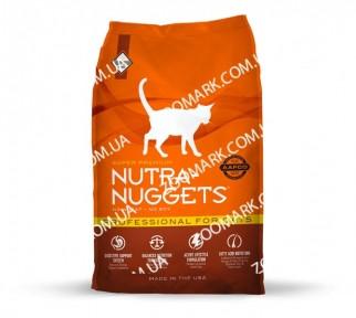 Nutra Nuggets Professional (оранжевая) сухой корм для котят и кошек 10 кг