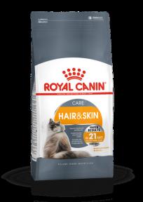 Royal Canin Hair  Skin 33 (Роял Канин Хеир энд Скин) для кошек с проблемной шерстью и чувствительной кожей 400 г