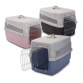 Imac Carry 60 Переноска для собак и кошек 604040 см Коричневая