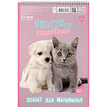 Альбом для рисования Kite Studio Pets SP20-243, 30 листов, фото 3