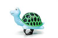 Велосипедный звонок - игрушка, черепашка BRAVVOS