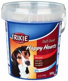 Happy Hearts  лакомство для собак с бараниной 500 г, Трикси 31497 Витамины для собак ведро пласт Happy Hearts 31497