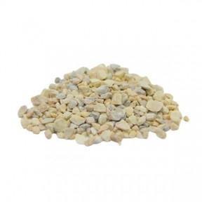 Грунт для аквариума белый мрамор 2-5 мм  10кг