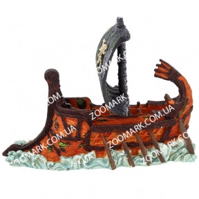 Керамика-пиратская ладья 27,59,514см, СН2617