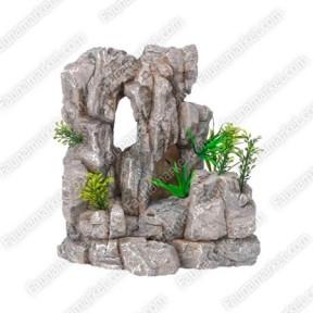 Керамика-скала с растениями 151429,5см, СН6721