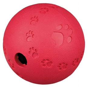 Мяч для лакомств 7 см каучук Трикси 34941