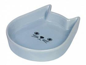 Миска для кошек Китти керамическая 13163см Нобби 150мл Синяя