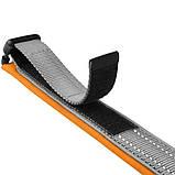 Ошейник из неопрена светоотражающий оранжевый 25мм (43-51см), фото 2