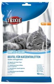 Пакеты для кошачьего туалета 10 шт., Трикси 4051 Пакет для кота туалета 5671 см 1 упаковка 10 шт 4051