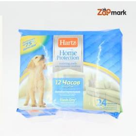 Пеленки супер впитывающее место для туалета собак, Hartz 24 шт