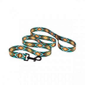 Поводок TRIBAI для собак капроновый ромбы 10мм152см