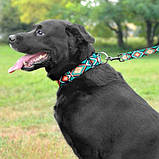 Поводок TRIBAI для собак капроновый ромбы 10мм152см, фото 2