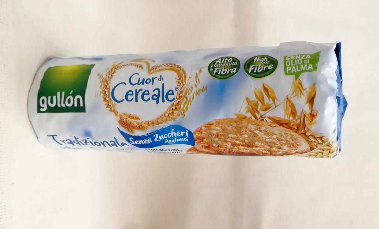 Печенье без сахара Gullon Cuor di Cereale Senza Zuccheri