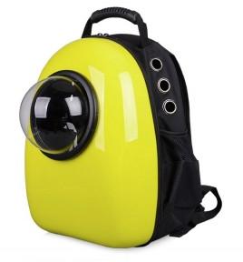Рюкзак иллюминатор пластик 32х42х29см Желтый