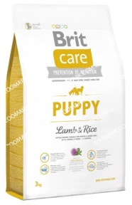 Brit Care Puppy  с ягненком и рисом для щенков 3 кг