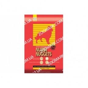Nutra Nuggets Lamb  Rice (Нутра Нагетс) красная с ягннком 15 кг
