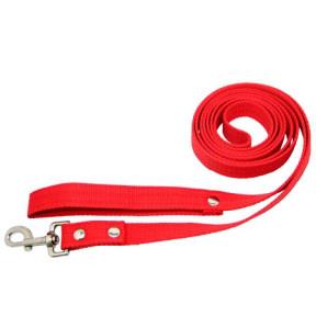 Поводок брезент  35мм Красный Длина 1.5 м