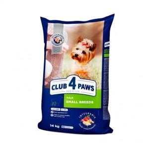 Клуб 4 лапы Премиум для собак малых пород 2 кг