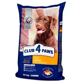 Клуб 4 лапы Премиум для собак всех пород контроль веса 14кг