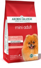 Arden Grange (Арден Грендж) для собак мелких пород свежая курицарис 2кг